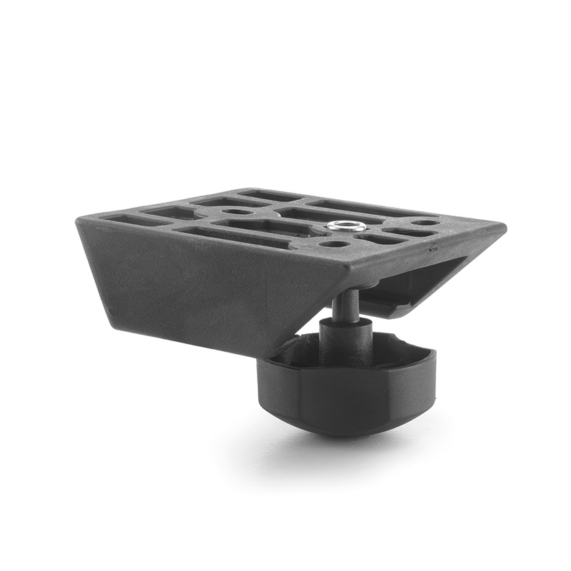 "Pair of width adjustment brackets with knob 25,7 mm ""FLEX"