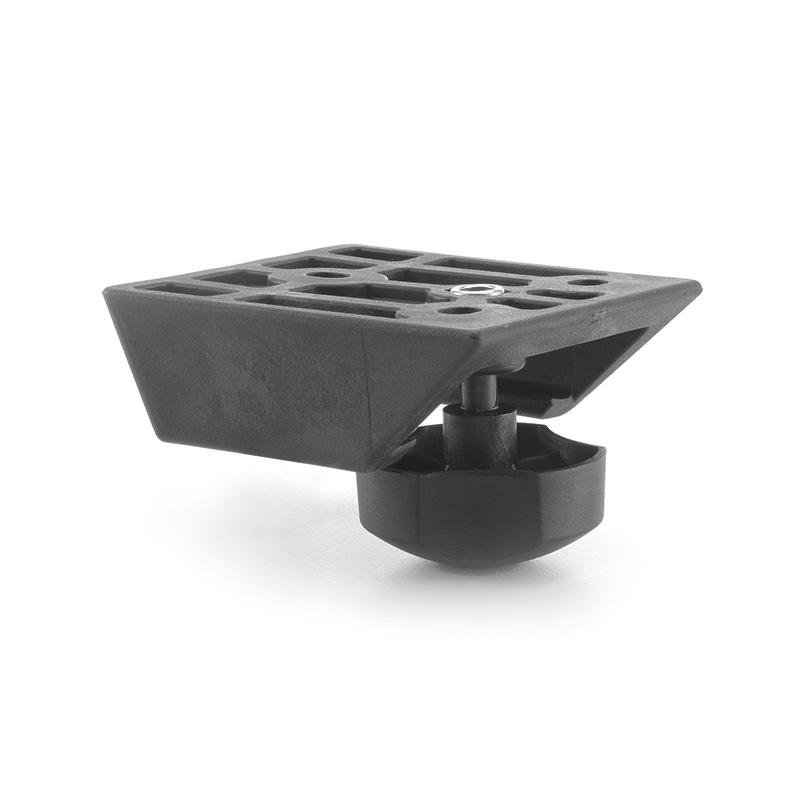 "Pair of width adjustment brackets with knob 21 mm ""ERA"""